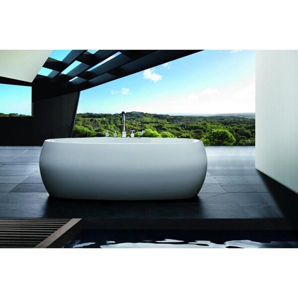 Aquatica PureScape 119 Freestanding Acrylic Bathtub
