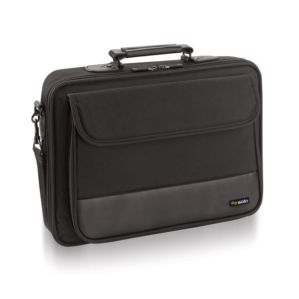 Solo Classic 15-inch Laptop Slim Briefcase