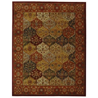 Safavieh Handmade Heritage Bakhtiari Multi/ Red Wool Rug (12' x 15')