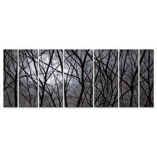 Justin Strom 'Moon Light' Metal Wall Art