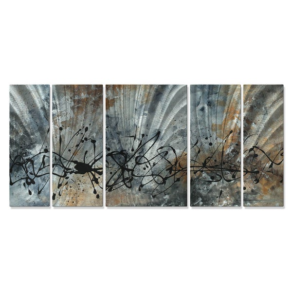 Megan Duncanson 'Find The Peace' Metal Wall Art