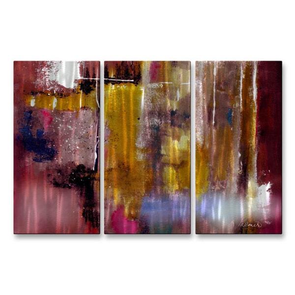 Ruth Palmer Moving Light Metal Wall Art