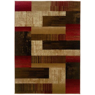 Western Elegance Tallys Road Calm Afternoon Area Rug (9'x12'2)