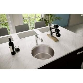 Elkay 'Harmony' Mocha e-granite 33-inch Single-bowl Sink