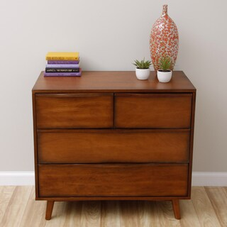Sterling Antique Honey 4-drawer Dresser