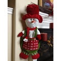 Countdown to Christmas Hanging Snowman Calendar