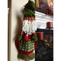 Countdown to Christmas Hanging Santa Calendar