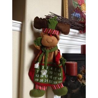 Countdown to Christmas Hanging Reindeer Calendar