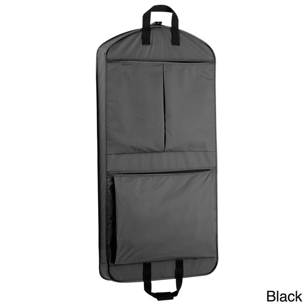 WallyBags 45-inch Extra Capacity Garment Bag with Pockets