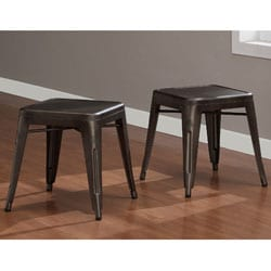 Vintage Tabouret Tables (Set of 2)