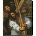 Sebastiano Del Piombo (Luciani) 'Jesus Carrying the Cross 1516' Oil on Canvas Art