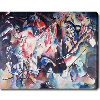 Wassily Kandinsky 'Composition VI' Abstract Oil on Canvas Art