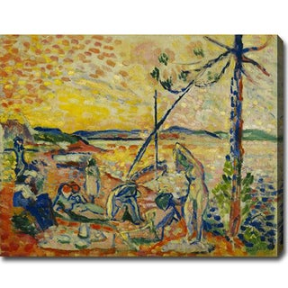 Henri Matisse 'Study for 'Luxe, calme et volupt�' Abstract Oil on Canvas Art