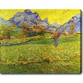 Vincent van Gogh 'Saint-Paul Hospital, Saint-R�my' Oil on Canvas Art