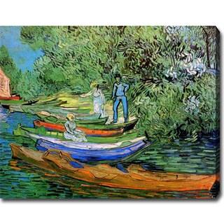 Vincent van Gogh 'Auvers-sur-Oise' Oil on Canvas Art