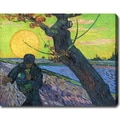 Vincent van Gogh 'The Sower' Oil on Canvas Art