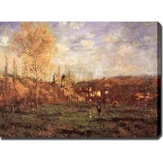 Claude Monet 'Untitled' Gallery-wrapped Canvas Art