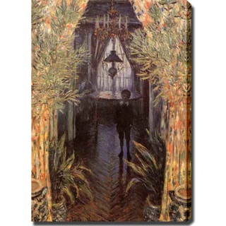 Claude Monet 'The Corner of the Room' Oil on Canvas Art