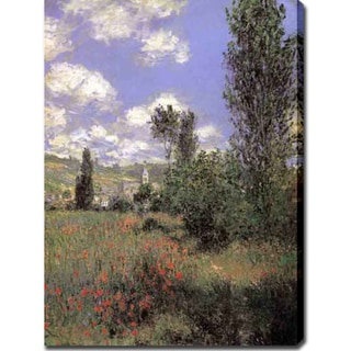 Claude Monet 'lle Saint Martin, Vetheuil' Oil on Canvas Art