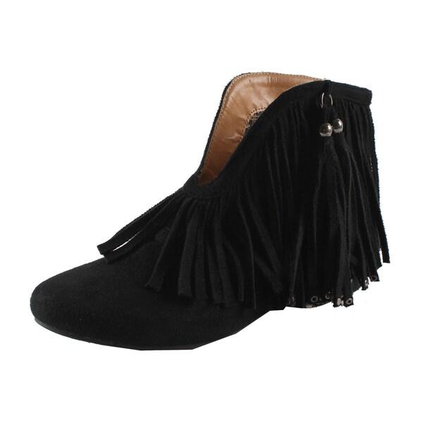 Machi by Beston Women's 'Fantasy' Ankle Booties