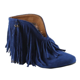 Machi by Beston Women's 'Fantasy' Ankle Bootie