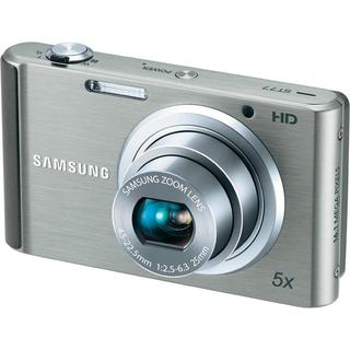 Samsung ST77 16.1MP Silver Digital Camera