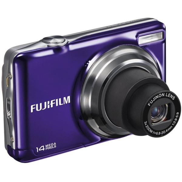 Fujifilm JV300 14MP Purple Digital Camera