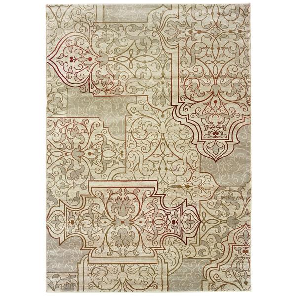Somette Millennium Scrollwork Divine Area Rug (9' x 12'2)