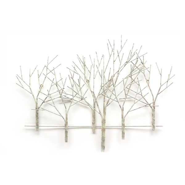 Iron Werks Winter Orchard Wall Sculpture