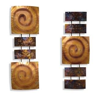Iron Werks Copper Pillows Mini Wall Sculpture