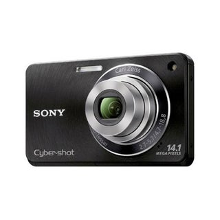 Sony Cyber-shot W360 14.1MP Black Digital Camera