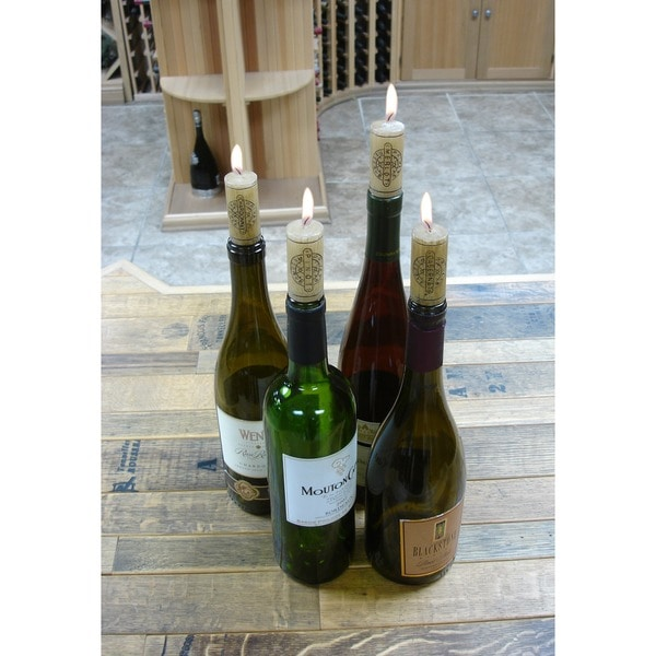 Epicureanist Wine Cork Candles