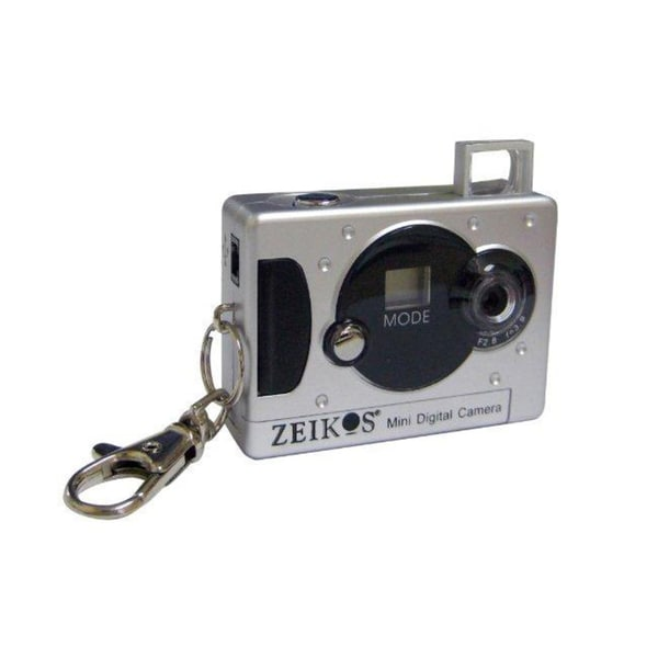 Zeikos ZE-KDC31-S Mini Digital Keychain Camera