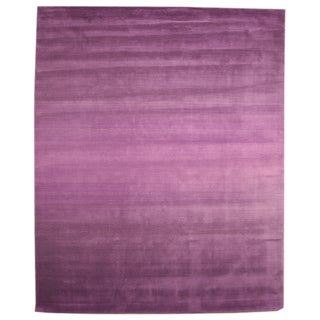 Hand Tufted Wool Purple Horizon Rug (7'9 x 9'9)