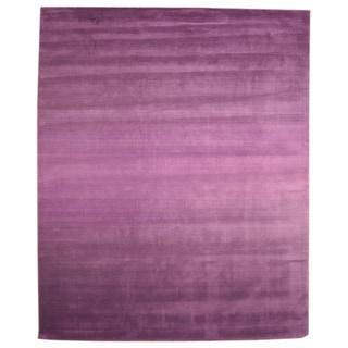 Hand Tufted Wool Purple Horizon Rug (7'9 x 9'9)