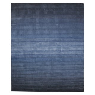Hand Tufted Wool Blue Horizon Rug