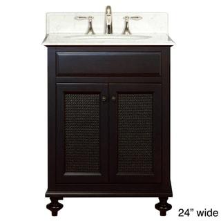 Water Creation London Collection Single Sink Bathroom Vanity Set