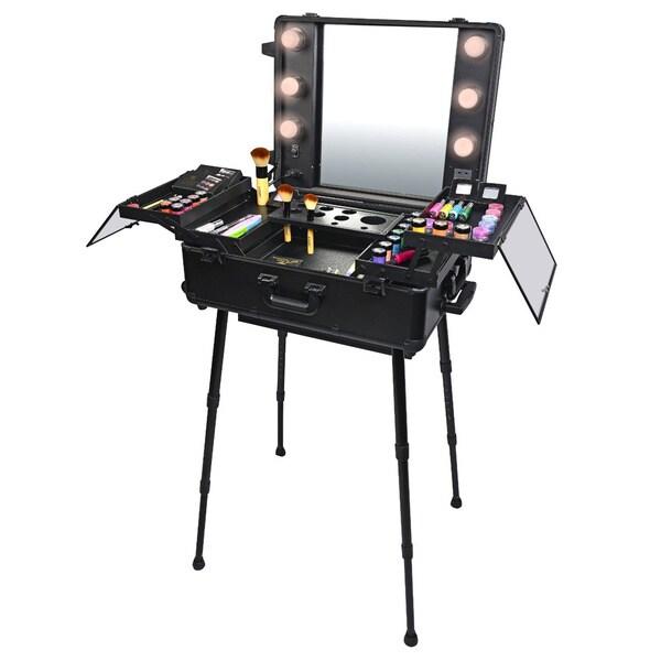 Shany Mini Studio Togo Makeup Case