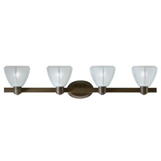 Transitional 4 light Bath/Vanity in Olde Bronze