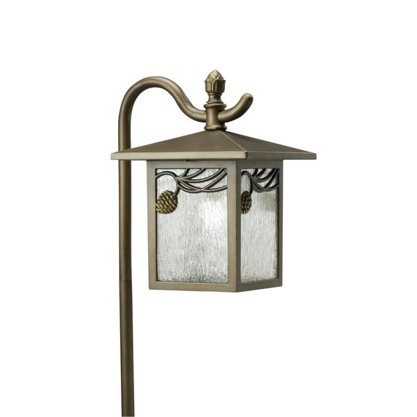 Transitional Bronze One-Light Outdoor/Landscape UL-Approved Fixture