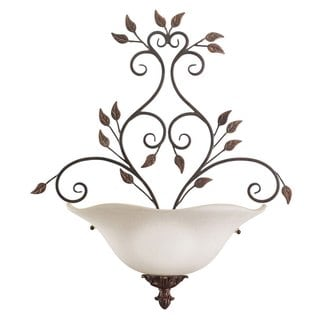 Transitional Mission Copper 2-light Wall Sconce