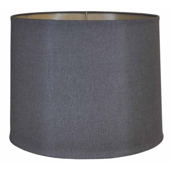Silver Drum Hardback Shade