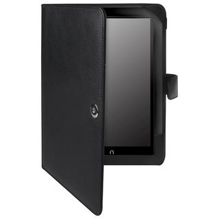 BasAcc Black Leather Case for Barnes &amp; Noble Nook HD+