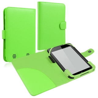 INSTEN Green Leather Phone Case Cover for Barnes & Noble Nook HD