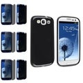 BasAcc Hybrid Case/ Privacy Protector for Samsung Galaxy S III/ S3