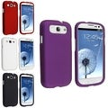 BasAcc White/ Purple/ Red/ Black Cases for Samsung Galaxy S III/ S3