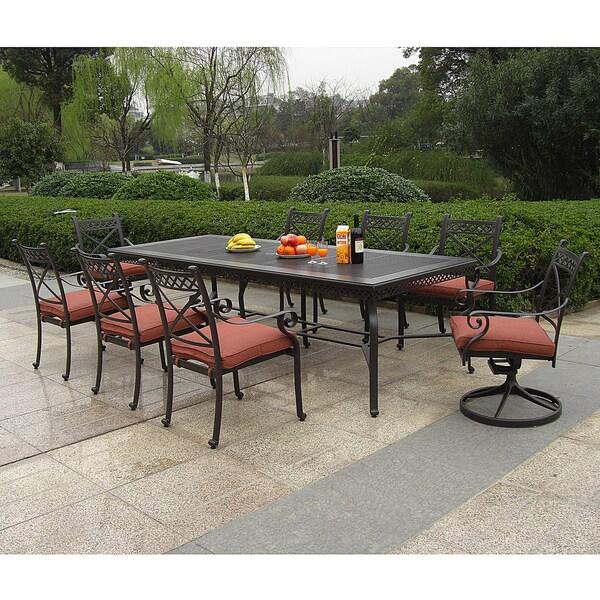 Santa Maria Outdoor 9-piece Dining Set