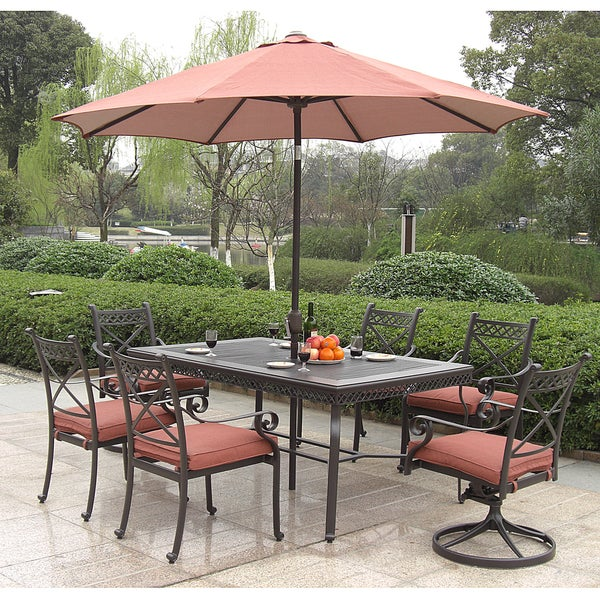 Santa Maria Outdoor 7 piece Dining Set Overstock™ Shopping Big Discounts