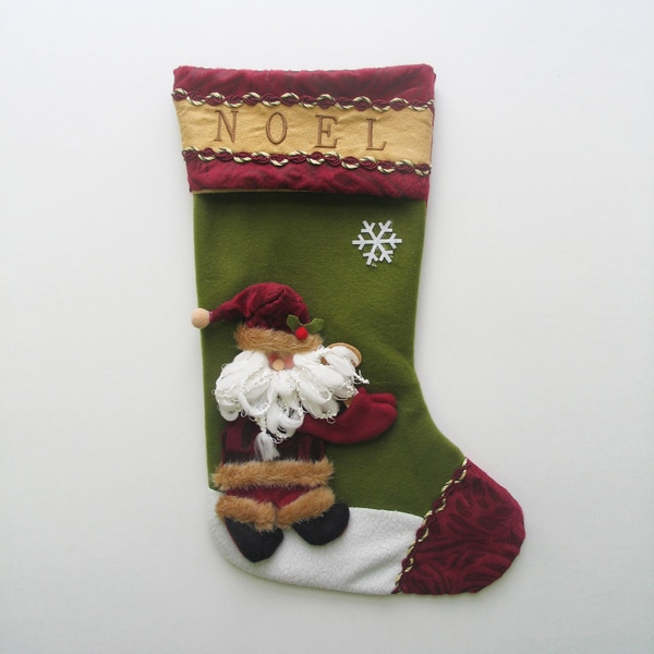 Santa Claus Christmas Stocking