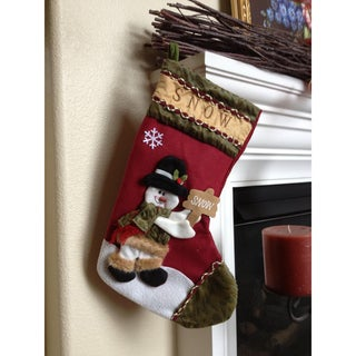 Winter Wonderland Christmas Stocking